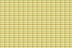 Modello giallo del tartan - Tabella dell'abbigliamento del plaid Immagine Stock Libera da Diritti