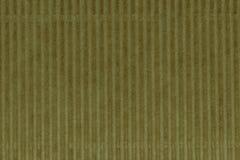 Modello giallo della superficie del fondo del cartone ondulato fotografie stock libere da diritti