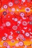 Modello giapponese del kimono Fotografie Stock Libere da Diritti