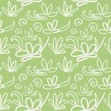 Modello giapponese senza cuciture su fondo verde oliva leggero royalty illustrazione gratis