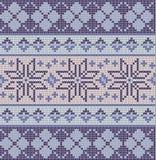 Modello giusto blu senza cuciture dell'isola Illustrazione Vettoriale