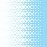 Modello grafico blu e bianco del poligono astratto del triangolo Fotografia Stock