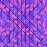 Modello grafico con i triangoli viola vivi Fotografia Stock Libera da Diritti