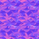 Modello grafico con i triangoli viola vivi Immagine Stock Libera da Diritti