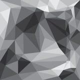Modello grigio del fondo dei triangoli Immagine Stock Libera da Diritti