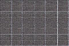 Modello grigio del plaid - Tabella dell'abbigliamento del tartan Immagini Stock