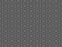 Modello grigio nero astratto del fondo Immagine Stock