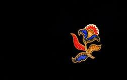 Modello III del batik della Malesia Immagini Stock Libere da Diritti
