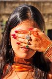 Modello indiano Fotografia Stock