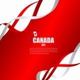 Modello indipendente di vettore dell'illustrazione di progettazione di celebrazione di giorno del Canada royalty illustrazione gratis