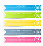 Modello infographic di affari per la presentazione, istruzione, web design, insegna, opuscolo, aletta di filatoio Fotografia Stock