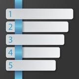 Modello infographic minimalistic piano moderno Immagine Stock Libera da Diritti