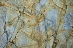 Modello insolito su una pietra Immagini Stock