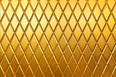 Modello interno di struttura dorata della parete per fondo astratto Fotografia Stock