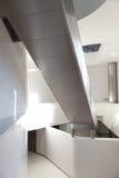 Modello interno moderno del corridoio Fotografia Stock Libera da Diritti