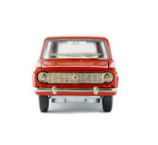 Modello isolato automobile del giocattolo Fotografia Stock