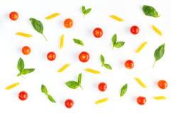 Modello italiano dell'alimento Immagini Stock Libere da Diritti