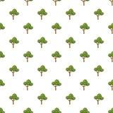 Modello lanuginoso dell'albero royalty illustrazione gratis