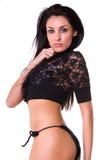 Modello latino sexy. Immagini Stock Libere da Diritti