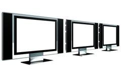 Modello LCD dello schermo Immagine Stock
