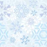 Modello leggero dei fiocchi di neve Immagine Stock Libera da Diritti