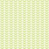 Modello leggero senza cuciture con le foglie di tè verdi Fotografia Stock Libera da Diritti
