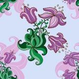 Modello lilla Fotografia Stock Libera da Diritti