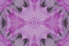 Modello lilla caleidoscopico Fotografie Stock Libere da Diritti