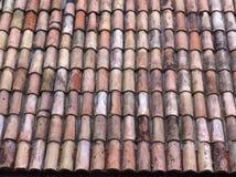 Modello Lugano del tetto di mattonelle Immagine Stock