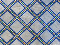 Modello marocchino delle mattonelle Fotografie Stock