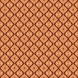 Modello marrone senza cuciture di colore Fotografia Stock