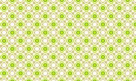 Modello marrone verde del fiore Immagine Stock Libera da Diritti