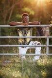 Modello maschio adolescente Immagine Stock