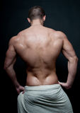 Modello maschio caldo Fotografia Stock