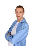Modello maschio sembrante diretto Fotografie Stock Libere da Diritti