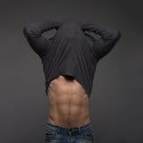 Modello maschio sexy Immagine Stock Libera da Diritti