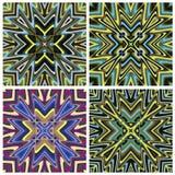Modello Mediterraneo delle mattonelle di stile Fotografie Stock