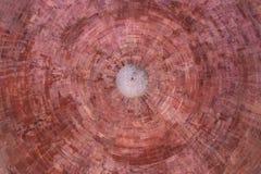 Modello minar della parete del qutub antico immagini stock