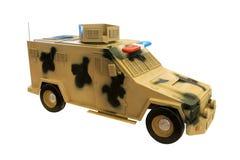 Modello miniatura del volante della polizia Fotografie Stock