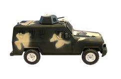 Modello miniatura del volante della polizia Fotografia Stock