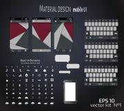 Modello mobile Fotografie Stock Libere da Diritti