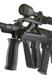 Modello molle della plastica della pistola dell'aria Fotografia Stock