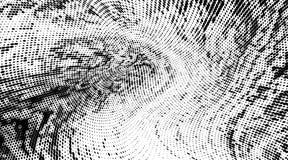 Modello monocromatico astratto del semitono di lerciume Le macchie punteggiate molli e spruzza Illustrazione di vettore con i pun illustrazione vettoriale
