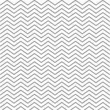 Modello monocromatico bianco nero di zigzag di Chevron Struttura senza giunte fotografie stock libere da diritti
