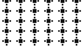 Modello monocromatico del blocco quadrato Fotografia Stock