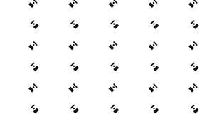 Modello monocromatico del pistone Immagine Stock Libera da Diritti