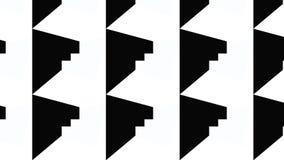 Modello monocromatico semplice della lama Fotografia Stock Libera da Diritti