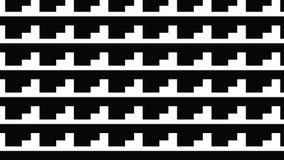 Modello monocromatico semplice di forma Fotografie Stock