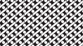 Modello monocromatico semplice di punto e della banda Immagini Stock