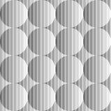 Modello monocromatico senza cuciture della sfera di progettazione Fotografie Stock Libere da Diritti